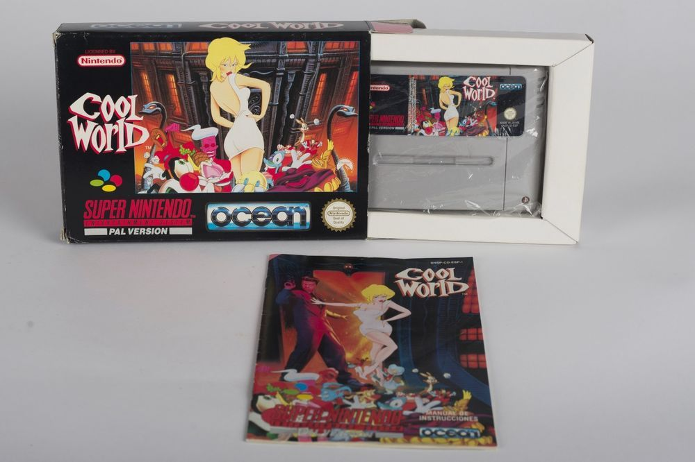 Cool World SNES - Super Nintendo - PAL