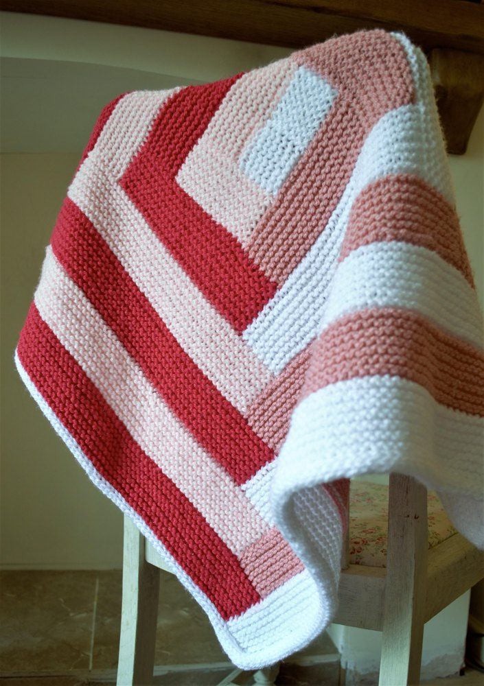 Candy Striped Baby Blanket Crib Blanket Cots And Cable