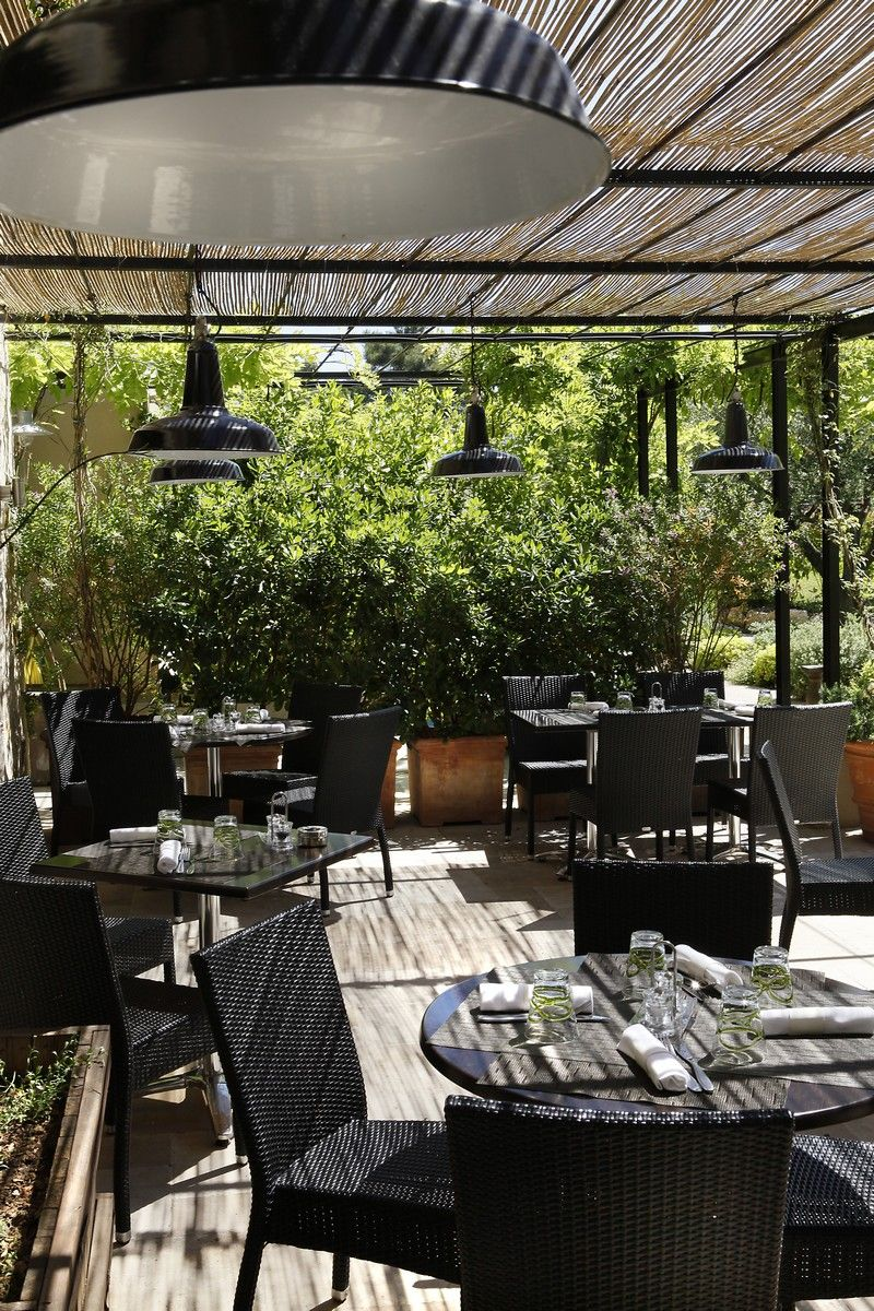 Our nice shaded terrace you to taste our