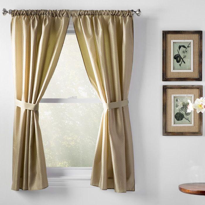 Wayfair Basics Wayfair Basics Rod Pocket Curtain Panel & Reviews | Wayfair