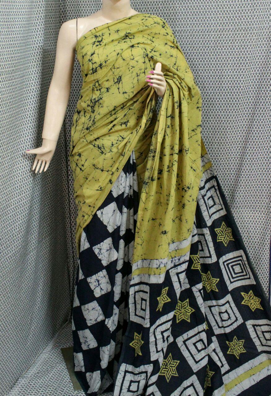 4e39f8bb20 Batik Printed Cotton Sarees #wholesale #manufacturer #batikprint #handprint  #womens #fashion #design #womenswear