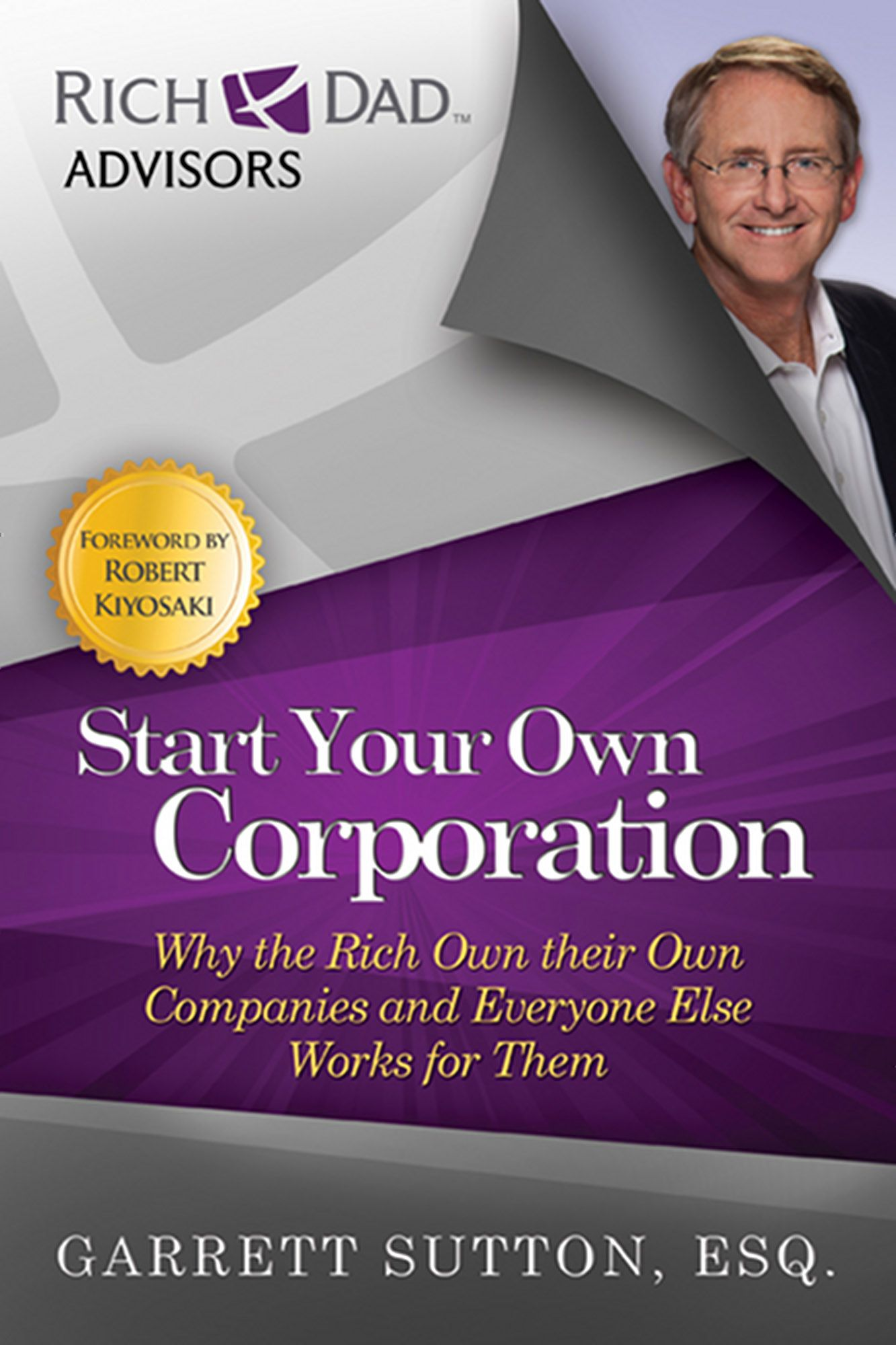 Start Your Own Corporation Rich dad, Investing books