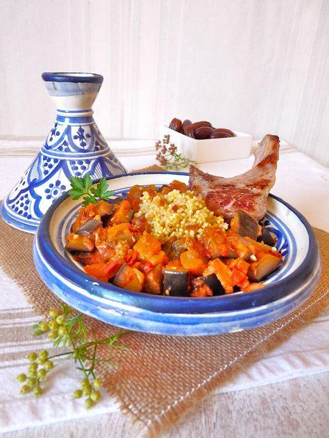 Tagine de légumes du soleil à la coriandre et au millet ...