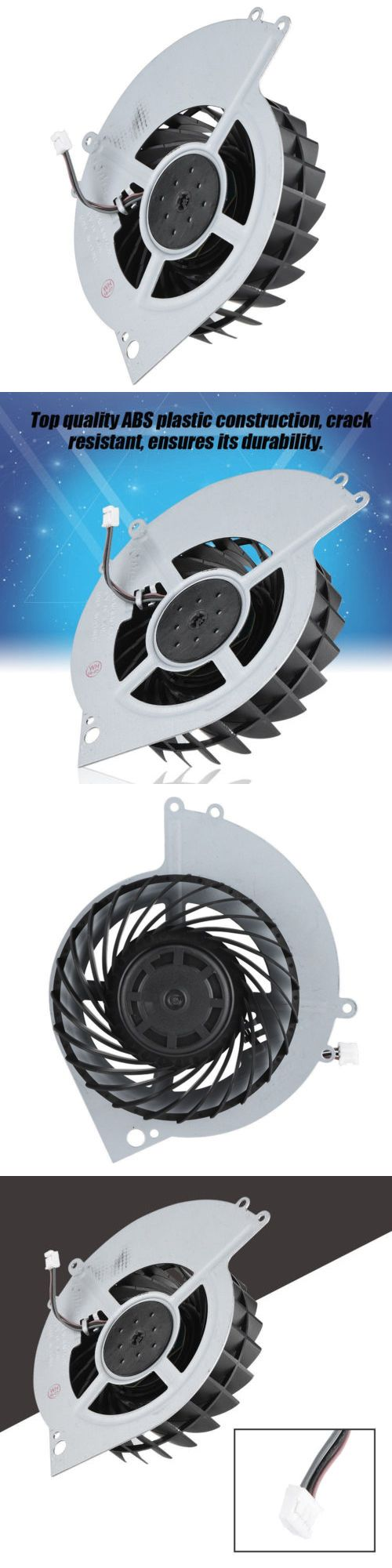 Cooling Devices 171898: For Sony Ps4 - Cooling Fan 23 Blade