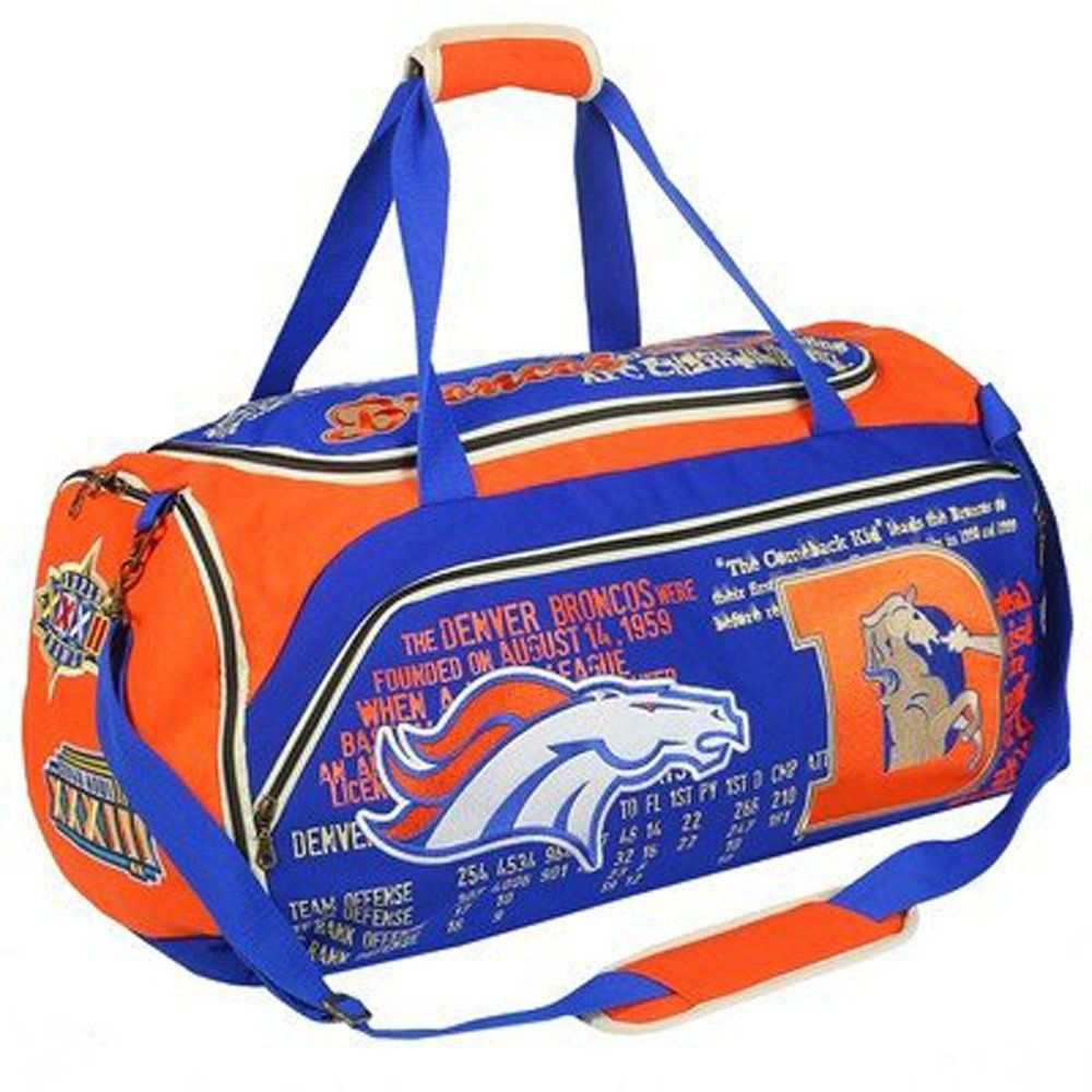Nfl football historical art limited duffle bag pick team