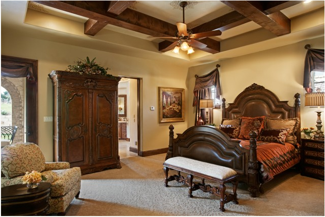 Old World Bedroom Design Ideas Tuscan Style Bedrooms Tuscan