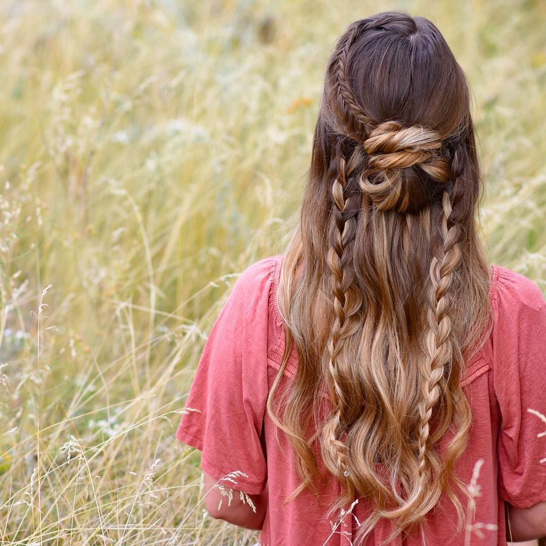 Cool  Spectacular Hairstyles with Braids Plaited FashionForward
