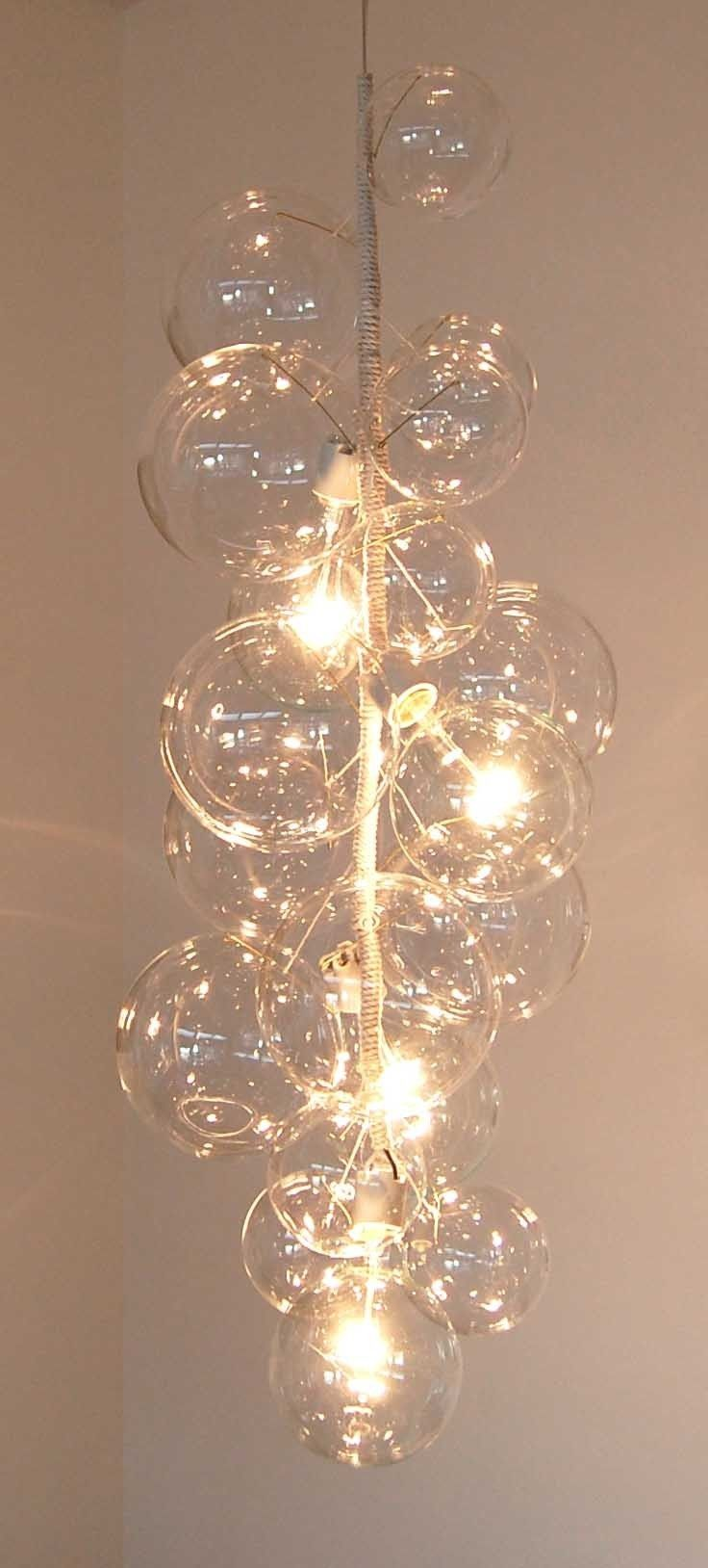 Tall Bubble Chandelier by PELLE. $3,200.00, via Etsy ...