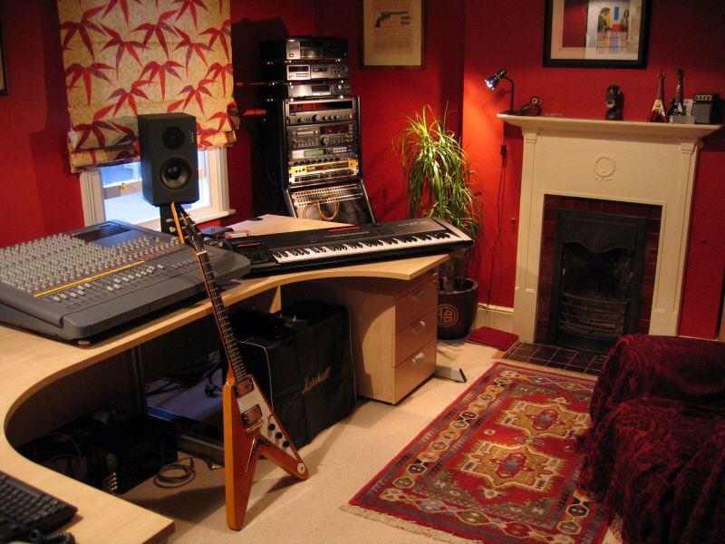A Cool Recording Studio Home Studio Music Home Music Rooms Music Room Design
