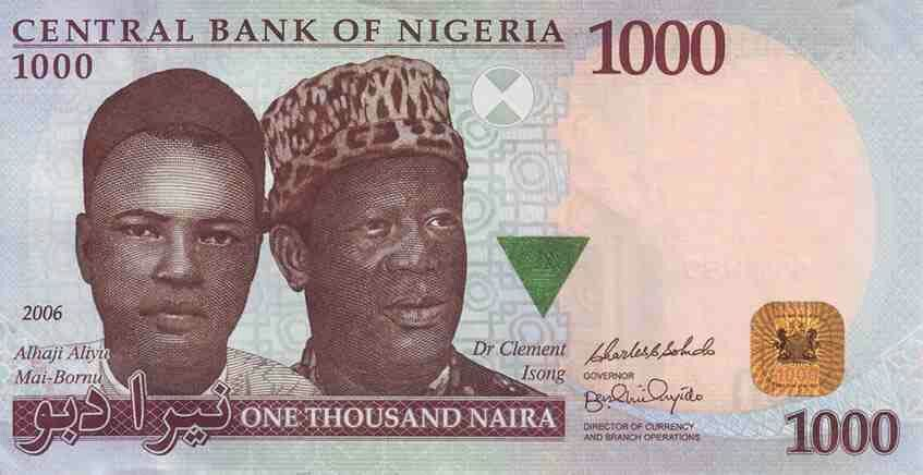Nigeria 1000 Naira Banknote