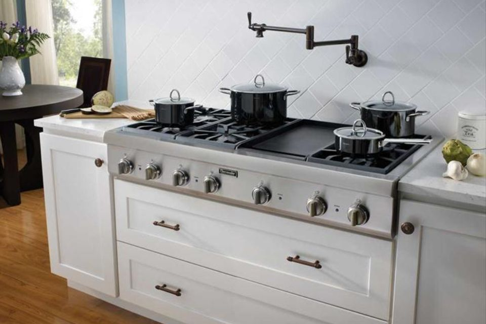 Thermador 48 Cooktop Counting The