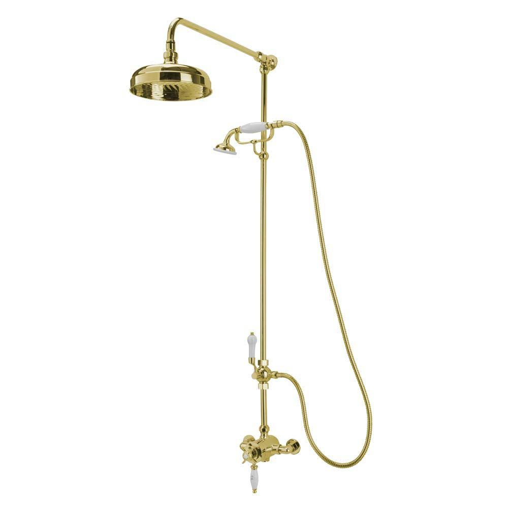 Tre Mercati Victoria Exposed Thermostatic Shower Valve with Riser ...