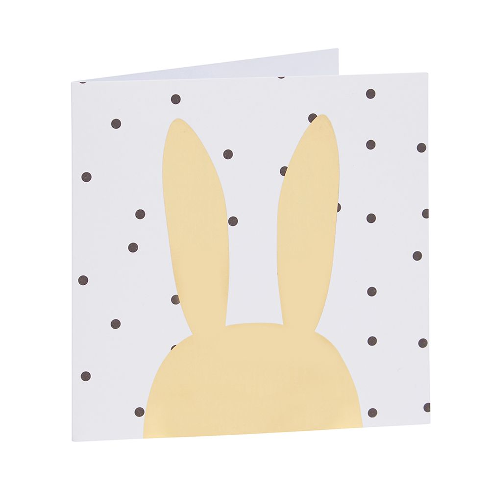 Seed bunny ears foil card oh my gold pinterest