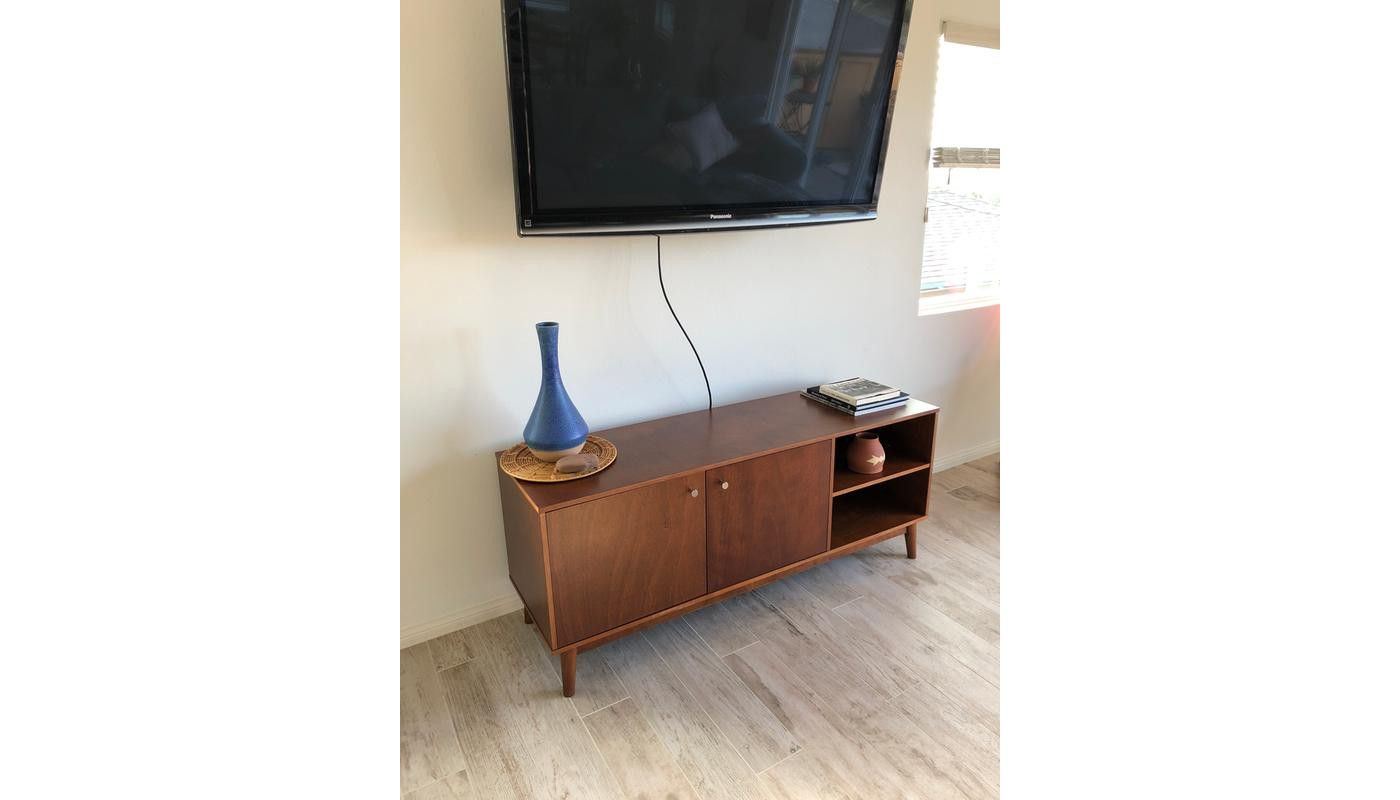 26b46a3563a Amherst Mid Century Modern TV Stand Brown - Project 62 in 2019 ...