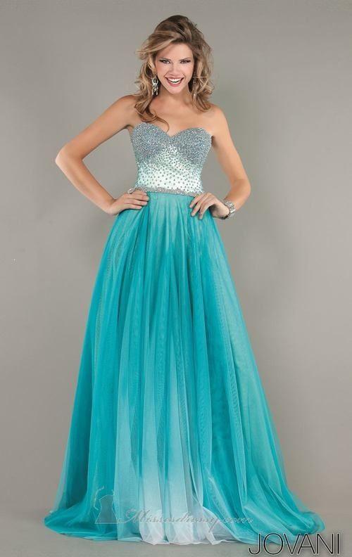 Ocean blue prom dress. Yes please. | •PRAM• | Pinterest | Prom