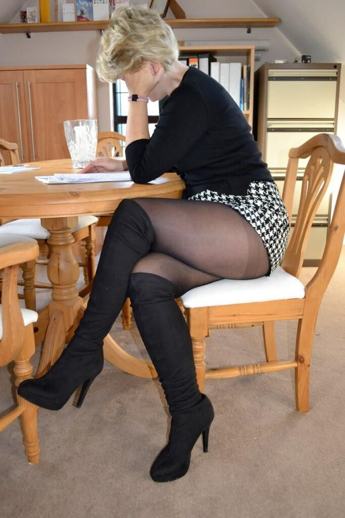 fc07546b203 Pin by Mike D on  Ladies in Stockings and Tights
