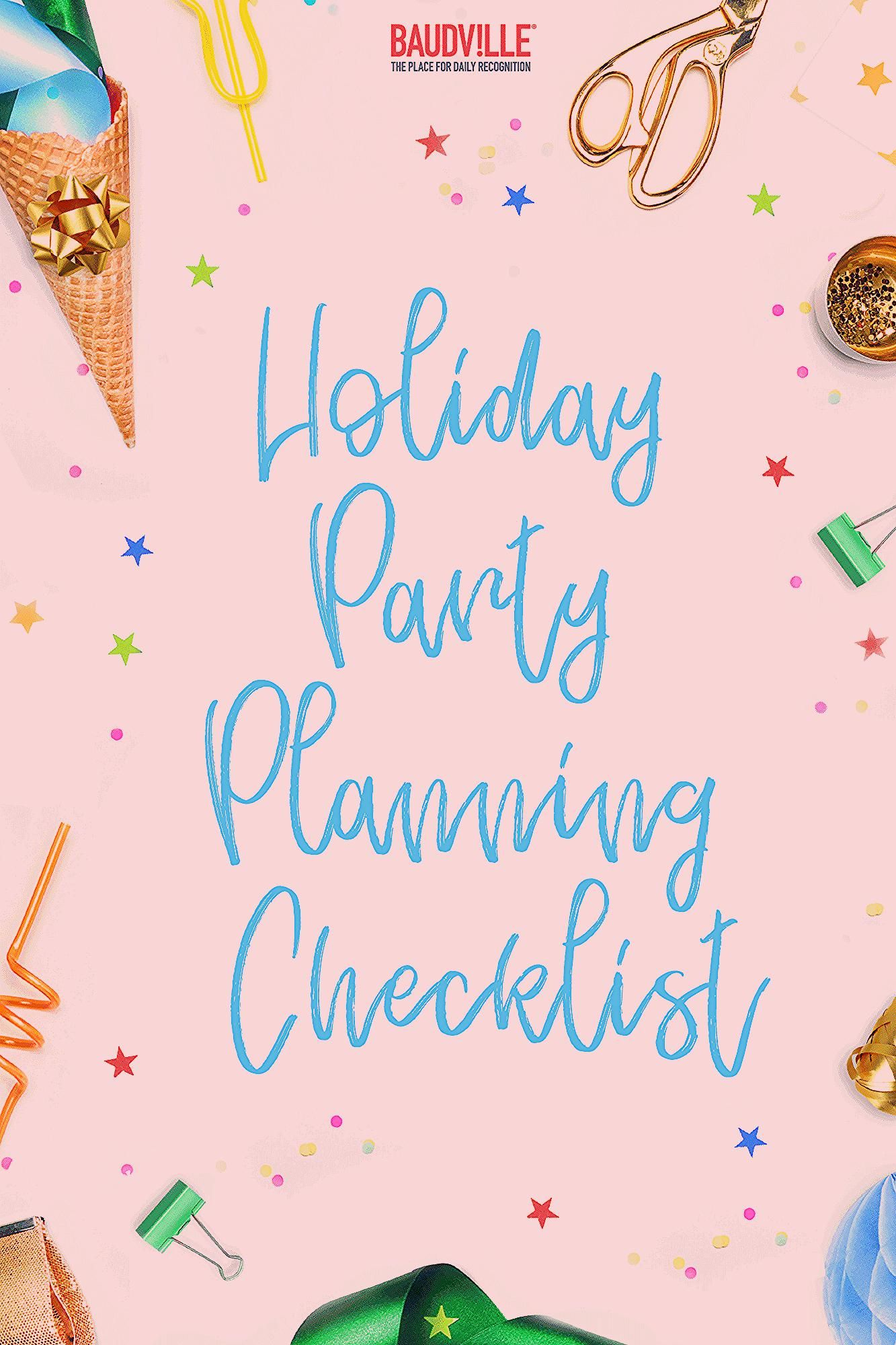Photo of Holiday Party Planning Checklist