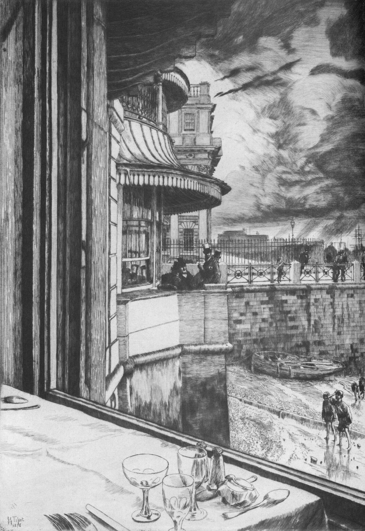 Trafalgar Tavern- James Tissot, 1878