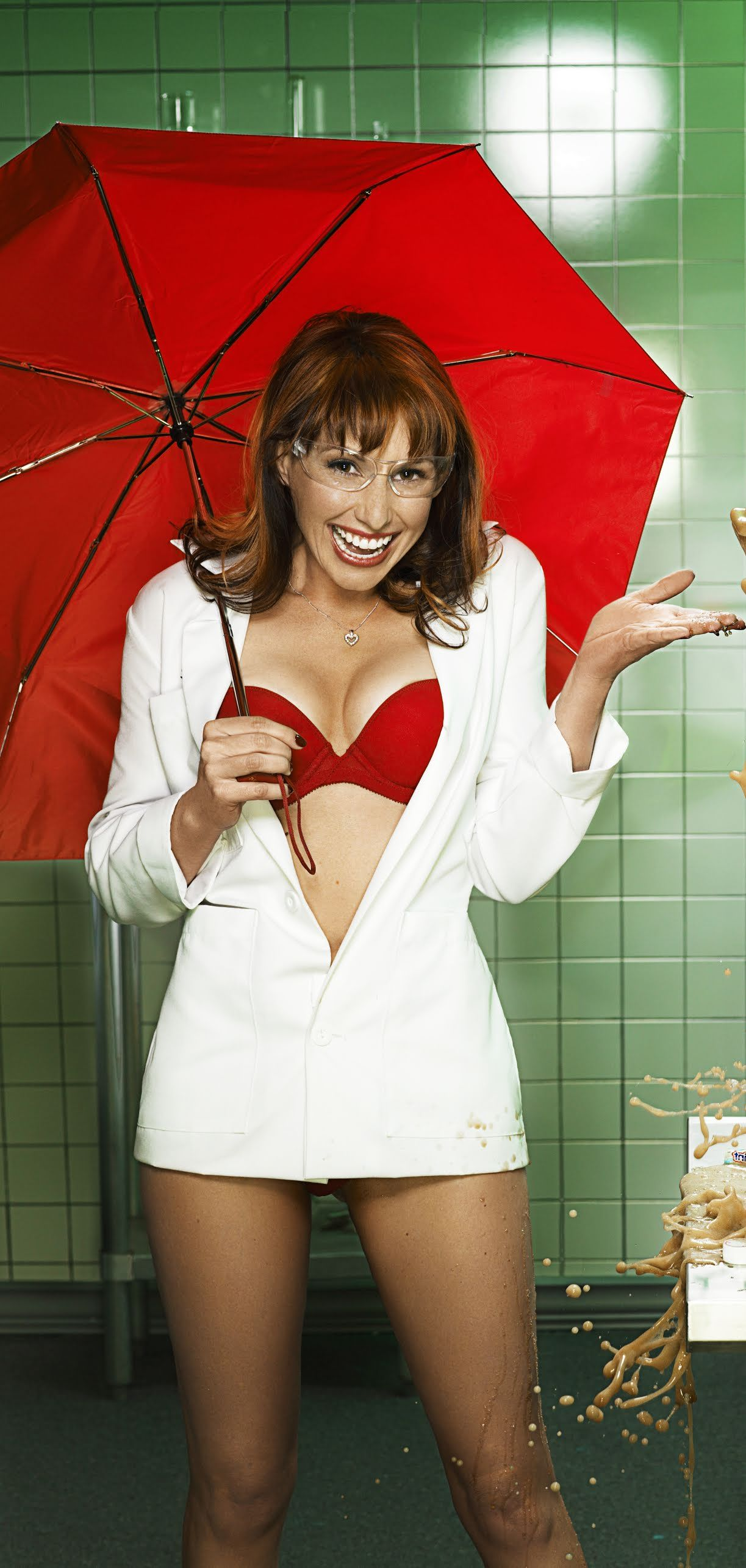 Kari byron fhm shoot
