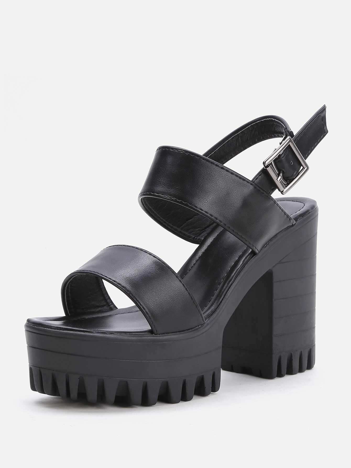 0d03dd7da4f shoes170321812 2 Chunky Heel Platform Sandals