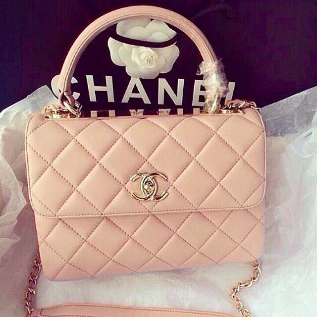 Pastel Pink Chanel Bag