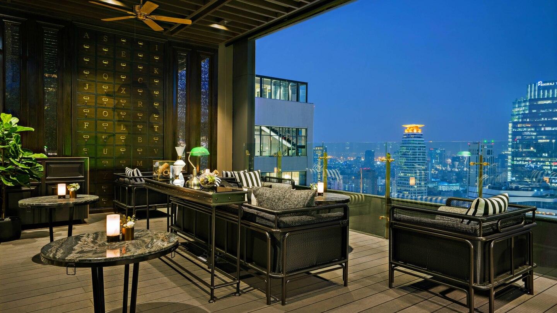 Abar Marriott Hotel Sukhumvit Bangkok Outdoor Living Patio Marriott Hotels Hotel