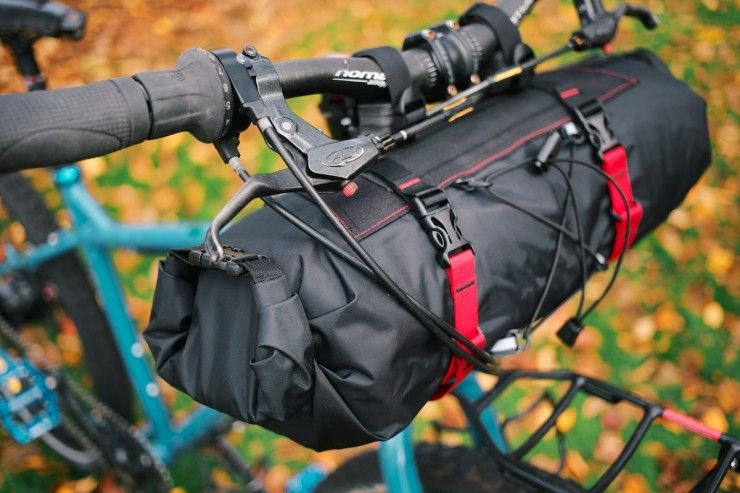 Bikepacking Gear Revelate Handlebar Bag Sweet Roll Handlebar Bag Bikepacking Bags Bike Bag