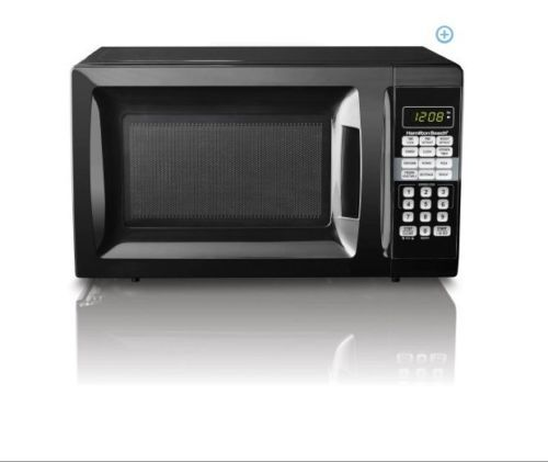 Hamilton Beach 0 7 Cu Ft Microwave Oven 700w Digital Countertop Free Shipping With Images Black Microwave Oven Microwave Oven Microwave