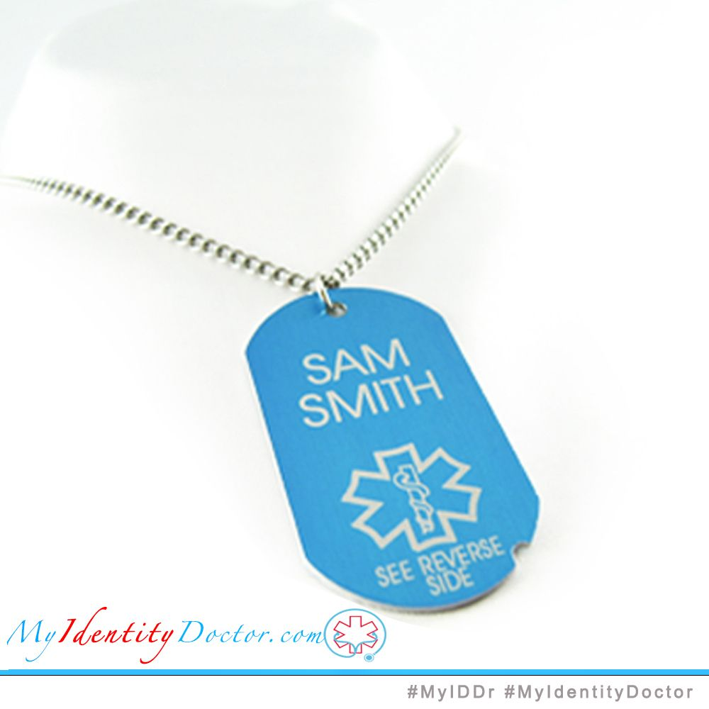 MyIDDr One of our medical alert necklaces! PD1B-N27