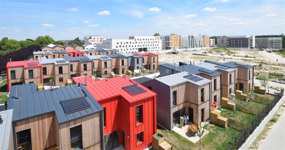 cobe architecture et paysage urbain pinterest logement eco quartier et urbanisme. Black Bedroom Furniture Sets. Home Design Ideas