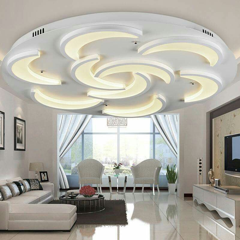 22 Cool Living Room Lighting Ideas And Ceiling Lights: Pin By Mohamed El Gammal On False Ceiling