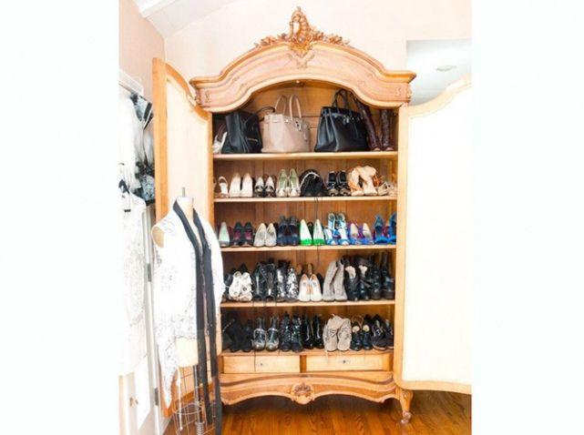 12 idées pour ranger ses chaussures autrement Dressings, Dressing