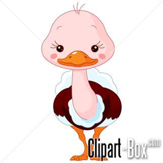 Clipart Funny Ostrich Royalty Free Vector Design Artesanato Para Criancas Animais Desenho Animal