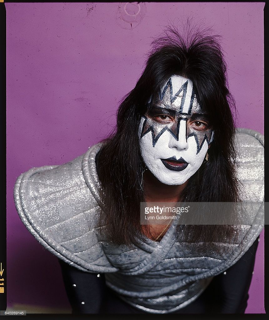 Photo Shows Ace Frehley Guitarist For The Rock And Roll Group