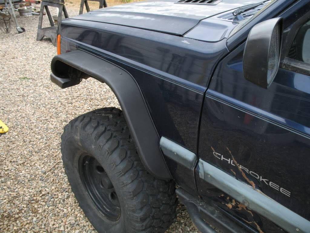 Jeep Cherokee Custom Fender Flares - Cherokee SRT8 Forum