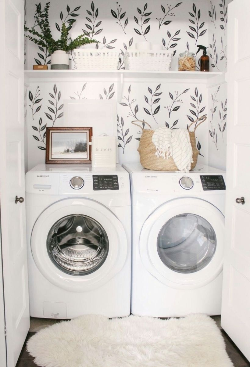 15 Laundry Room Decor Ideas For Small Space Homiku Com Tiny Laundry Rooms Washroom Decor Laundry Room Inspiration