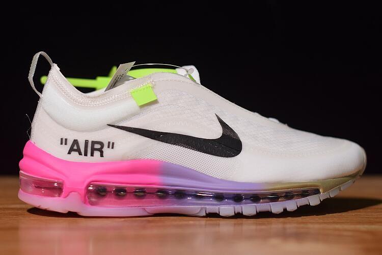 Off White X Nike Air Max 97 Queen Elemental Rose Barely Rose White Black Aj4585 600 Nike Air Max 97 Nike Air Max Nike Air