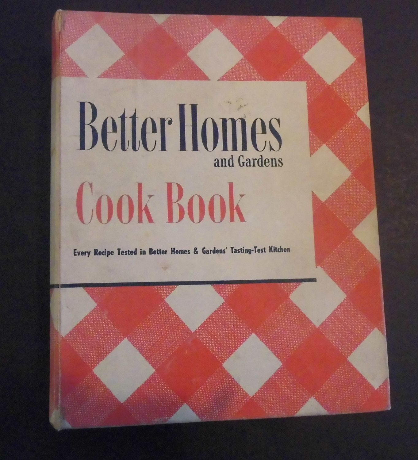 Better Homes And Gardens Test Kitchen Better Homes And Gardens Cook Book 1951 Five Ring Binder Vintage