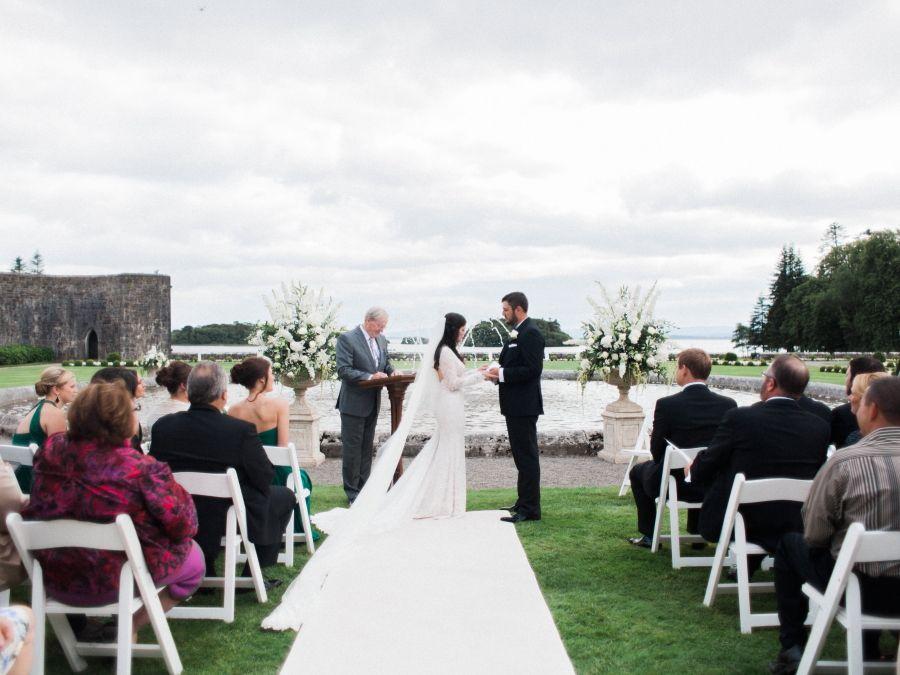 Ashley Brody S Ashford Castle Wedding West Coast Weddings Ireland