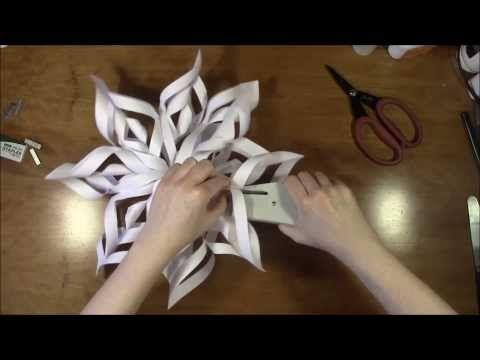 Julepynt - Flettet julehjerte - Hjemmelavet julepynt