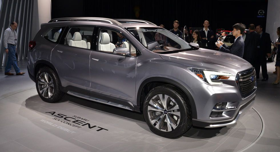 Subaru Ascent Concept Lands In NY To Preview 3Row