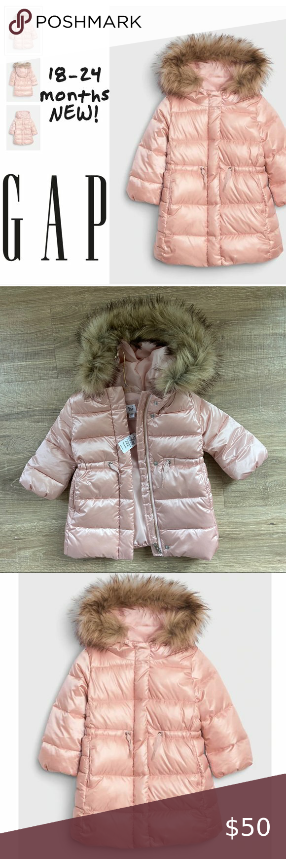 Gap Toddler Coldcontrol Max Long Puffer Pink 18 24 Long Puffer Girls Puffer Jacket Kids Winter Jackets [ 1740 x 580 Pixel ]