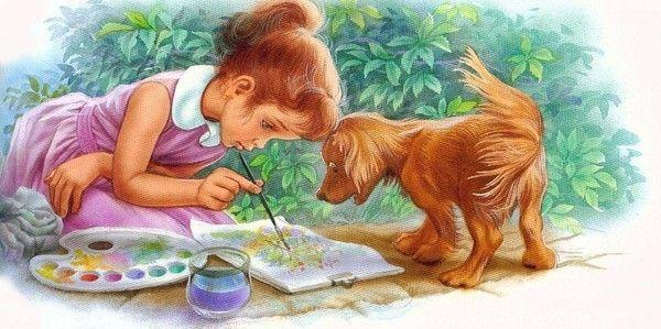 souvenirs enfance avec martine - Page 24   Peinture