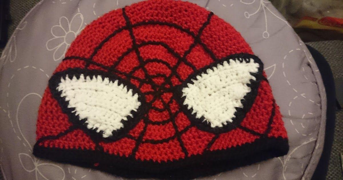 YarnYessi - Häkeln mit Herz: Spiderman-Mütze | häkelbar | Pinterest ...