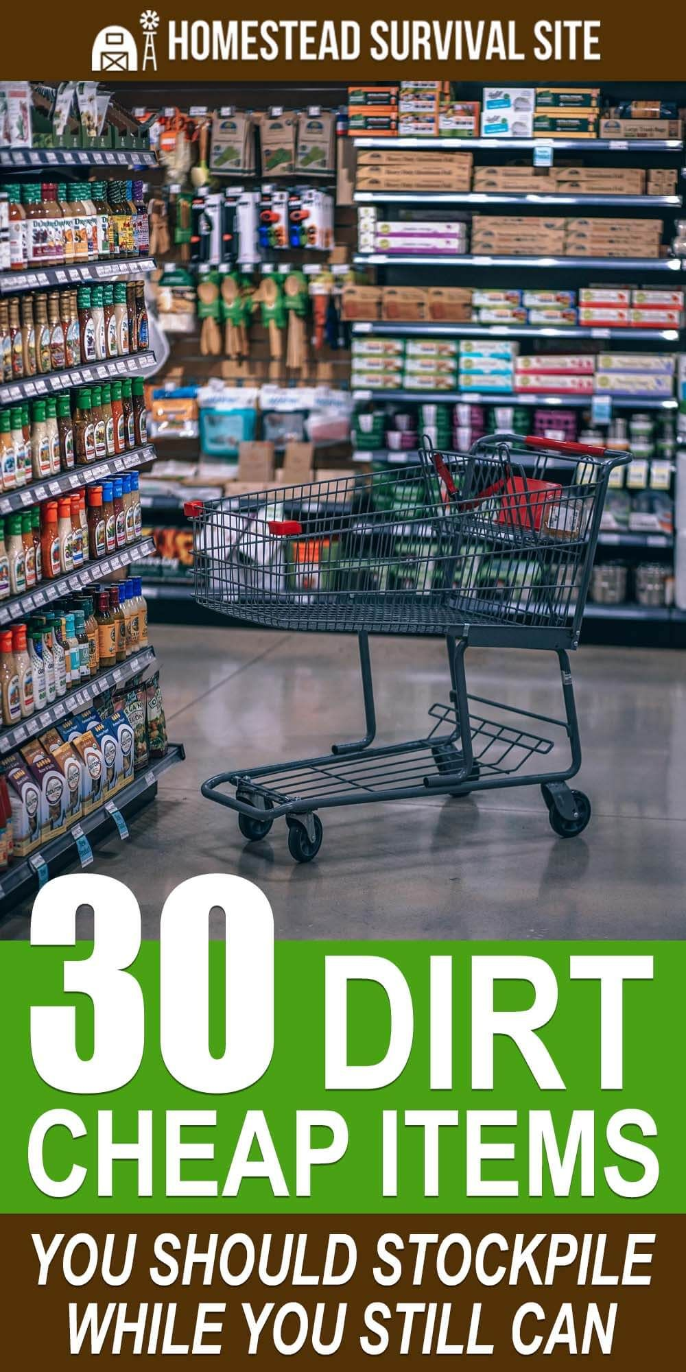 We took a tour of our local dollar store with a survival perspective in mind and found many dirt-cheap items that would not only serve more than one purpose in an emergency but would be valuable for bartering. #homesteadsurvivalsite #survivalitems #survivalsupplies #prepping #preparedness