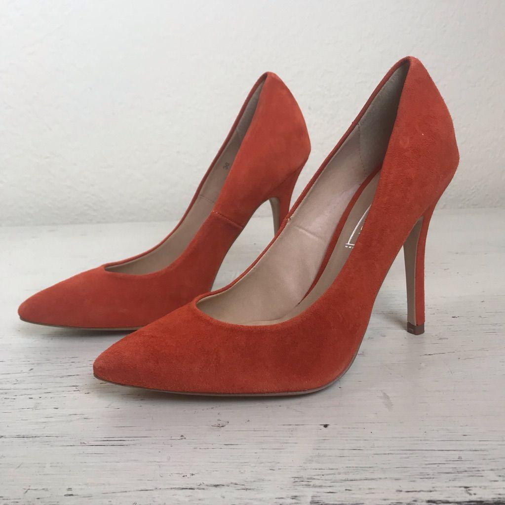 Pianeta Scontroso opera  TOPSHOP Burnt Orange High Heels, Size 5 1/2, New NWT | Orange high heels, Orange  heels, Orange wedding shoes