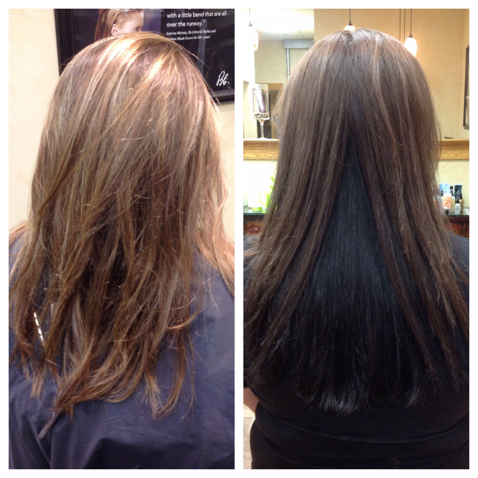 Before and after by Kerri