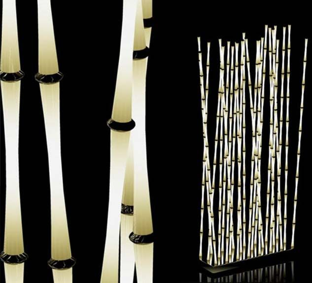 unique indoor lighting. Beautiful Indoor Unique Outdoor Lighting Ideas  Plant Light 560x506 Contemporary  Idea Bamboo Light  For Indoor Pinterest
