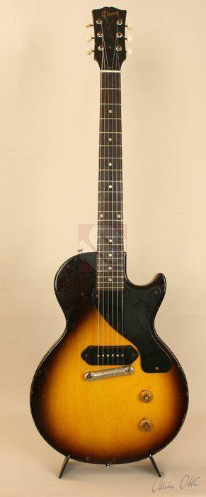 Gibson Les Paul Junior 1956 Tobacco Burst Guitar For Sale Ten-Guitars #vintageguitars