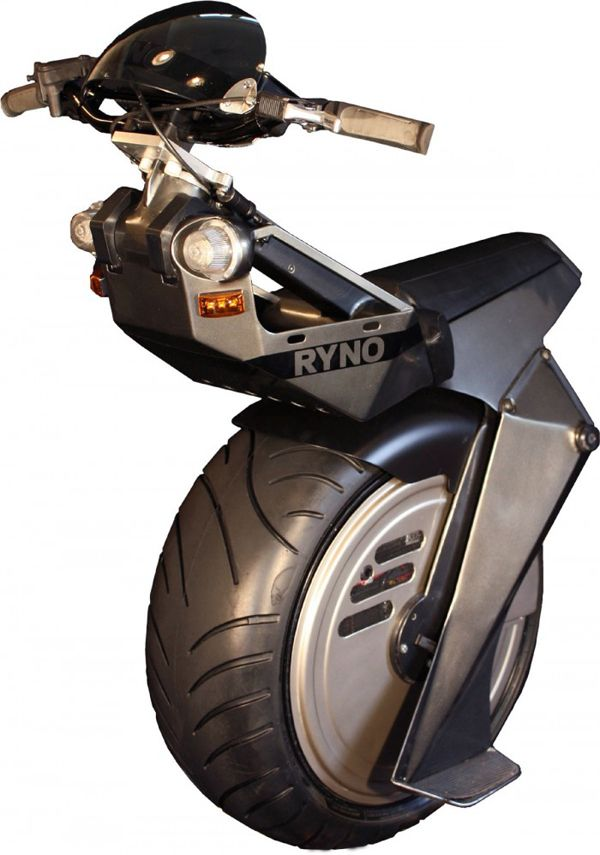 Single Wheeled Electric Scooter Ryno Motors Cannot See This Being Comfortable